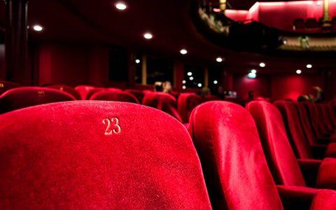 劇場の客席の様子