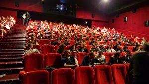 アヌシー映画祭満席の様子