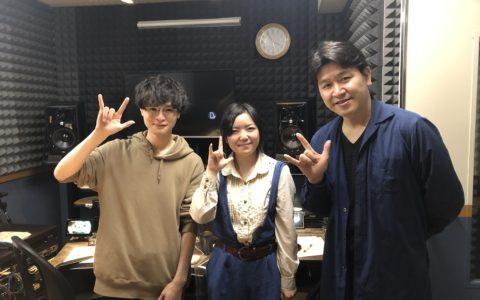 手話監修の三浦さんと声優さんの写真